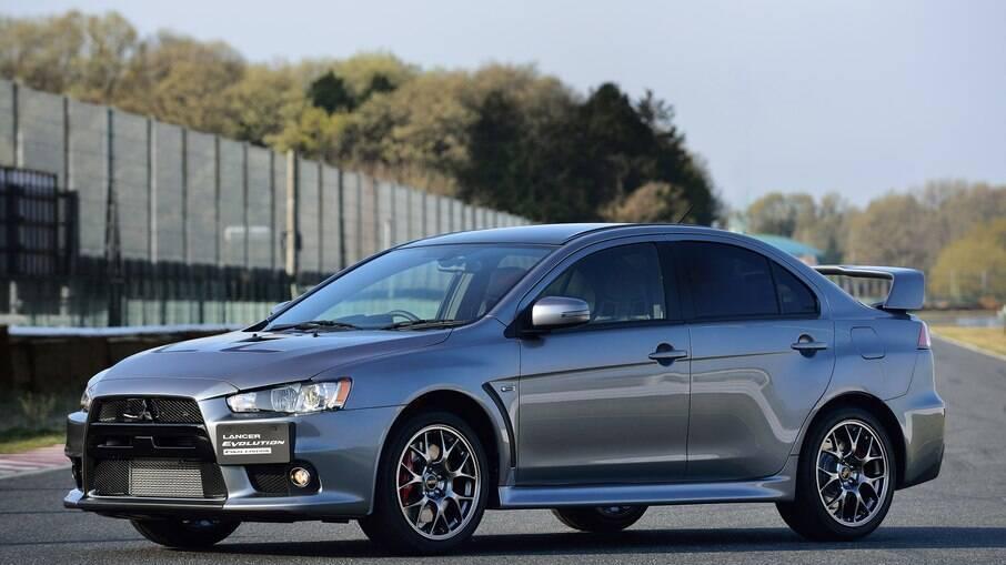 Conjunto de freios a disco do Mitsubishi Lancer Evo chegam a custar R$ 24 mil na concessionária