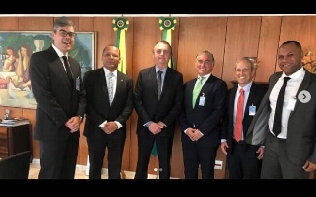 O empresário Neymar da Silva Santos aguarda julgamento sobre um processo por sonegação fiscal em análise pelo Carf