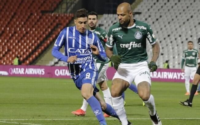 Palmeiras empatou com o Godoy Cruz na Argentina
