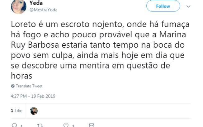 Marina Ruy Barbosa é o assunto mais comentado do Twitter