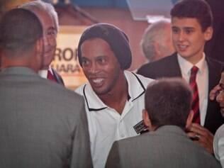 Ronaldinho Gaúcho espera ter mais um ano vitorioso pelo Atlético