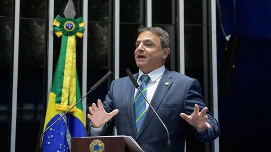 O senador Márcio Bittar (MDB - AC)
