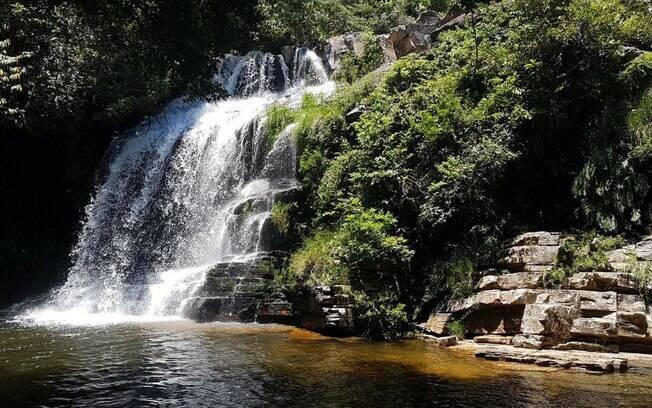 Cachoeira da Paz em Delfinópolis, Minas Gerais