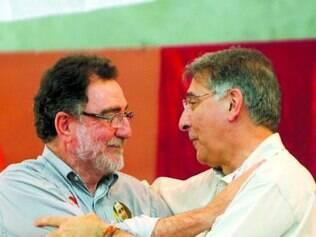 Pimentel se encontrou com outros petistas, entre eles Patrus