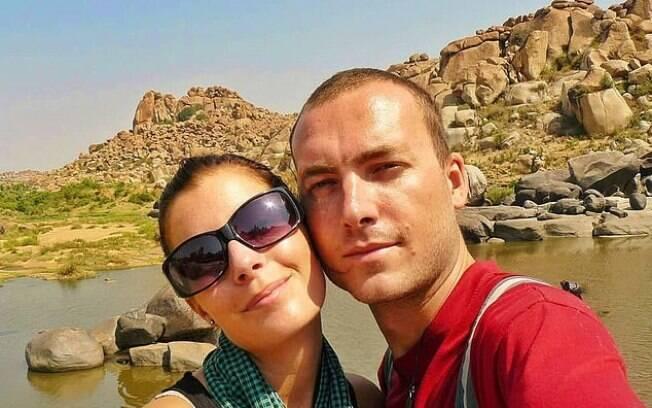 Antes de decidirem viajar pelo mundo com o filho, o casal já tinha feito um mochilão onde passaram por 36 países