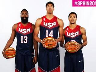James Harden, Anthony Davis e Derrick Rose comandam os Estados Unidos na Copa do Mundo de basquete