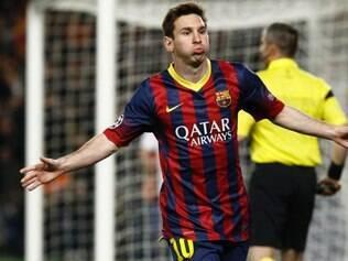 Messi abriu o caminho para a vitória catalã na Liga dos Campeões