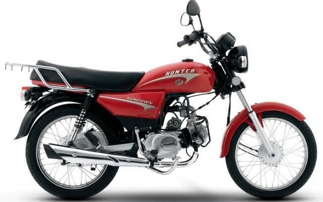 Sundown Hunter foi um dos grandes sucessos da marca brasileira, que acabou sucumbindo entre as marcas de motos