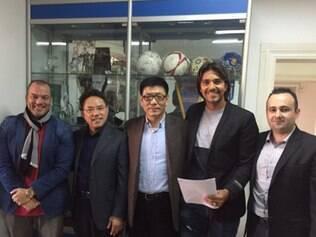 Moreno chega à equipe chinesa com um vínculo de duas temporadas