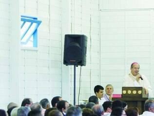 Para o arcebispo dom Walmor, tenda vai se tornar local de comunhão entre católicos