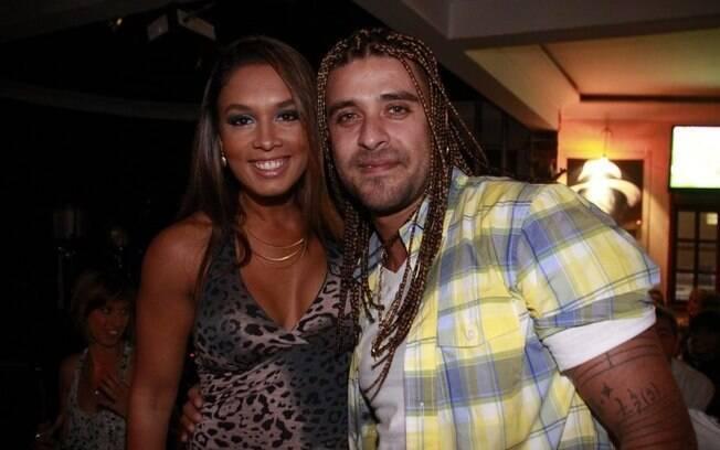 Luciana Carvalho e Diogo Nogueira