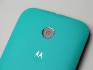 Moto E tem câmera de 5 megapixels
