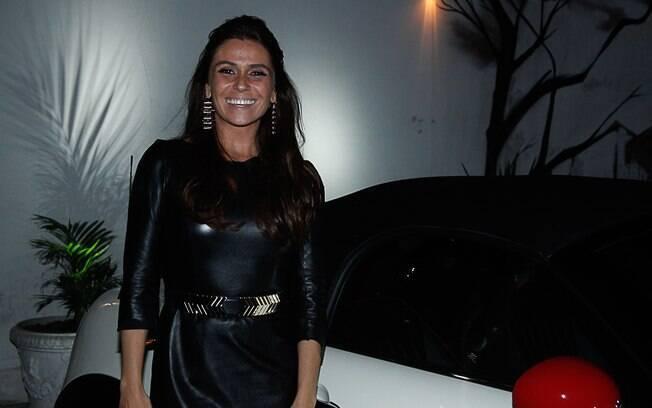 Giovanna Antonelli em evento em São Paulo