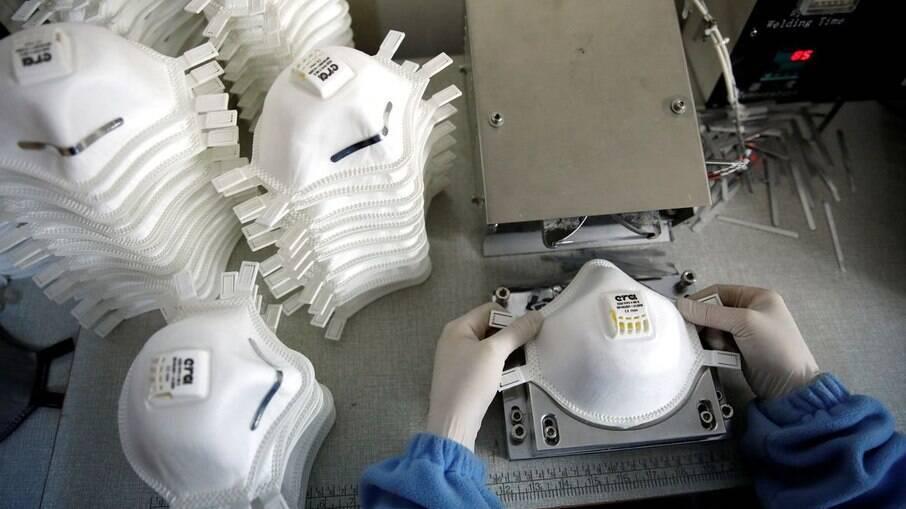 Máscaras para proteção contra a Covid-19