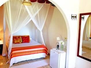 Acomodação no hotel Casa de Praia, em Caraíva