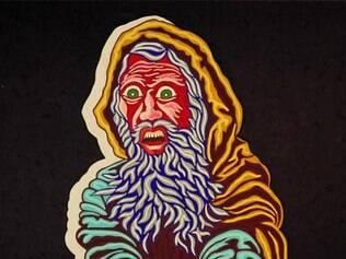 Profeta Isaías. Com a técnica acrílica sobre tela, artista faz releituras dos Profetas de Aleijadinho, em grande painel com dois metros de altura e 12 de comprimento. Os profetas gritam e prenunciam os conflitos entre os povos ao longo da História.