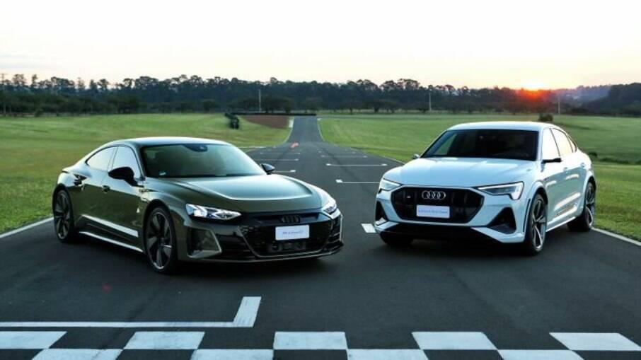RS e-tron GT e e-tron S Sportback: os novos modelos elétricos da Audi para o mercado brasileiro