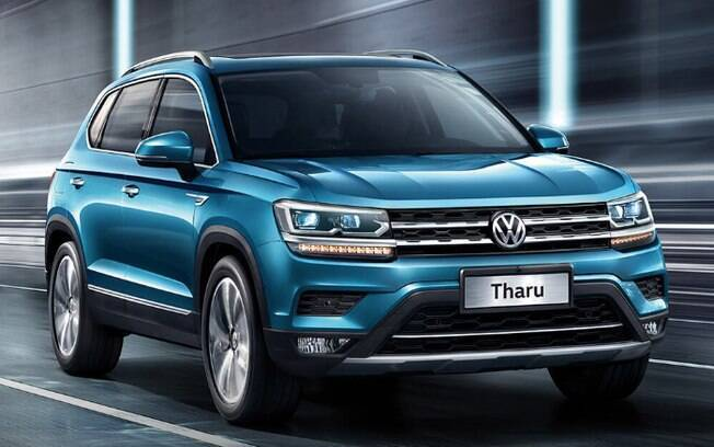 Volkswagen Tarek chama-se Tharu na China, mas é o mesmo carro que será fabricado na Argentina, a partir de 2020