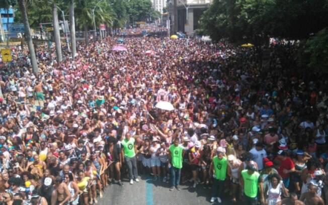 Bloco  Cordão da Bola Preta, no carnaval do Rio de Janeiro