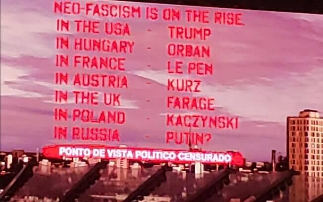 Roger Waters troca nome de Bolsonaro em show marcado por protestos