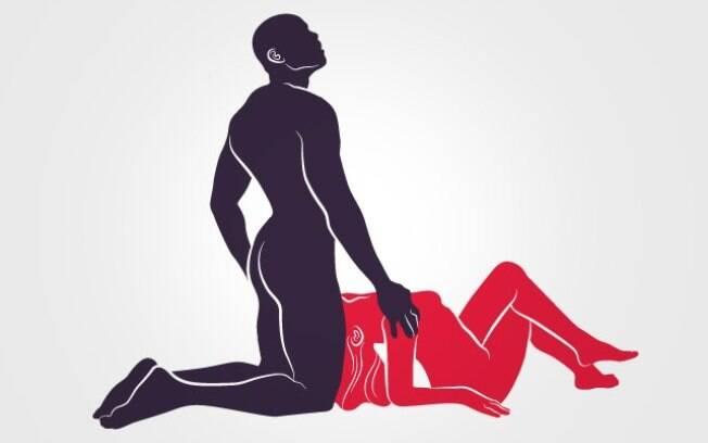 Outra forma de fazer oral no homem é com ele de joelhos, mas a mulher precisa estar confortável na posição necessária