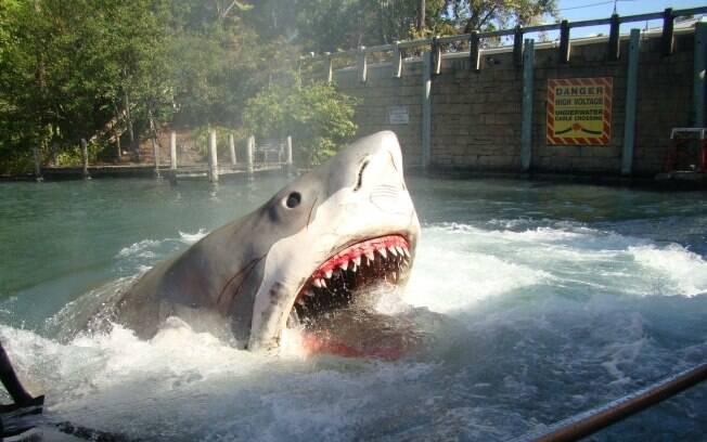 Atração dos tubarões no Universal Studios foi encerrada em janeiro