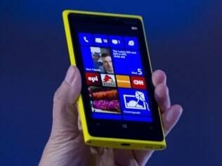 Lumia 920 suporta carregadores de bateria sem fio