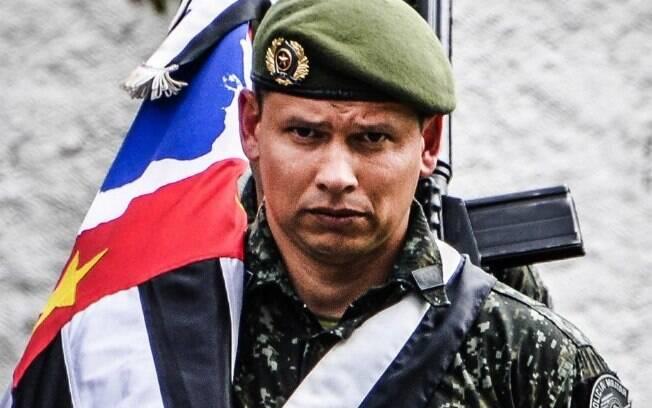Primeiro Tenente PM Fábio Vinicius de Souza Silva, Comandante de Pelotão do COE