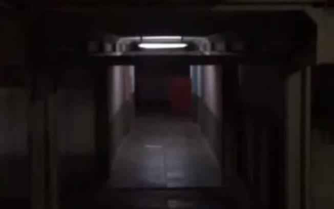 Em clima de suspense, seguranças noturnos filmaram