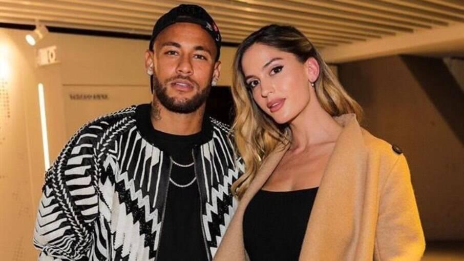 Neymar e Natalia viveram um affair em 2019