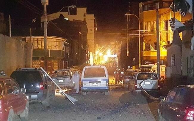 Segunda explosão na Bolívia foi causada por mais de três quilos de dinamite, detonadas próximas ao local do 1º acidente