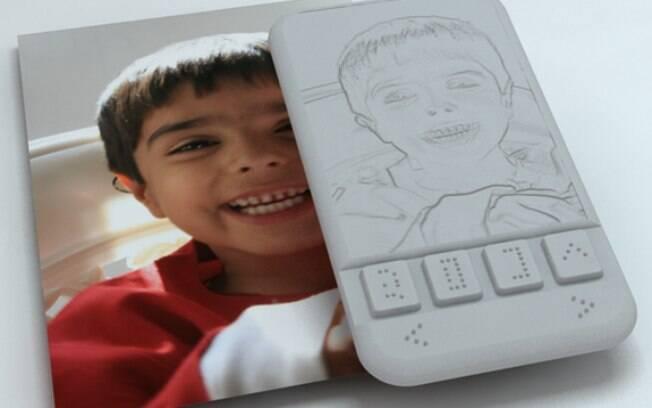 Smartphone para deficientes visuais permitira sentir, com a ponta dos dedos, expressões faciais durante chamadas de vídeo
