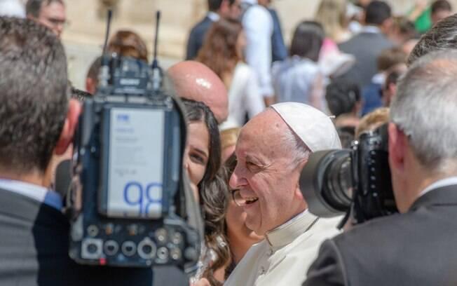 Papa Francisco afirmou que jornalistas têm capacidade para tirar conclusões sobre as acusações de Carlo Maria Vigano