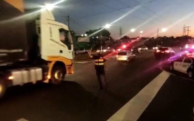 Suspeito de furto é preso após perseguição na Anhanguera, em Americana