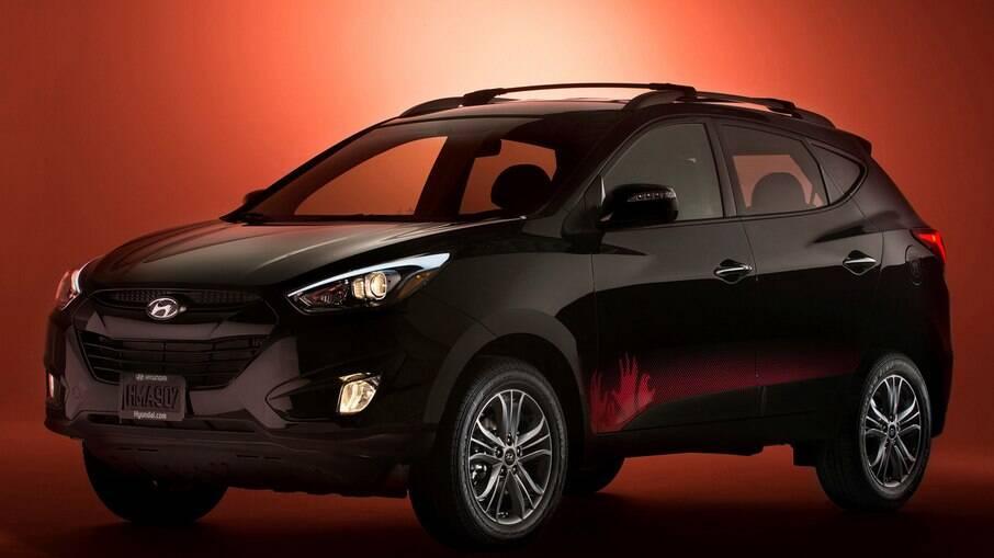 Hyundai Tucson The Walking Dead: entre os detalhes exclusivos estão os detalhes da pintura da carroceria