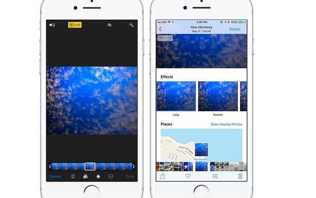 A câmera agora conta com uma infinidade de filtros novos