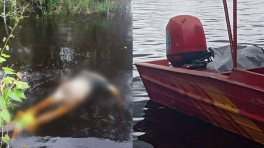 Homem não identificado tem corpo encontrado boiando nas águas de Manaus