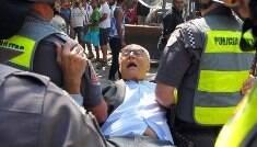Suplicy é preso após protestar contra reintegração de posse