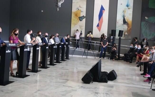 AO VIVO: Doria faz novos anúncios do Plano São Paulo