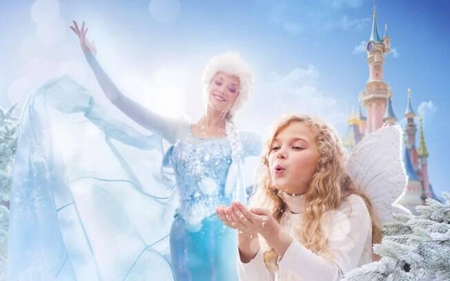 Frozen Celebration é um evento que acontecerá na Disneyland Paris até o dia 3 de maio e que será assistido pelos vencedores da promoção