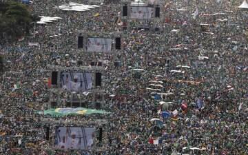 Veja como foi a visita do papa ao País na JMJ no Rio de Janeiro