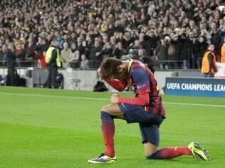 Neymar assumiu protagonismo na ausência de Messi