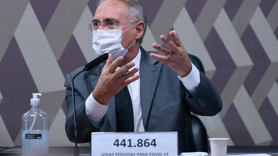 Relator da CPI da Covid Renan Calheiros (MDB-AL)