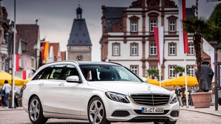 Mercedes Classe C Estate: versão a diesel tem bom desempenho e espaço de sobra entre as principais qualidades
