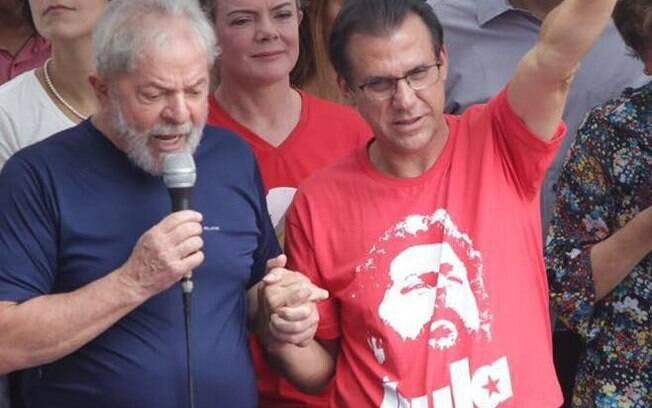 Luiz Marinho, candidato do PT ao governo de São Paulo