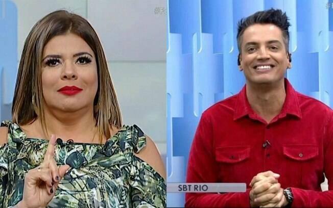 Leo Dias e Mara Maravilha já se estranharam antes