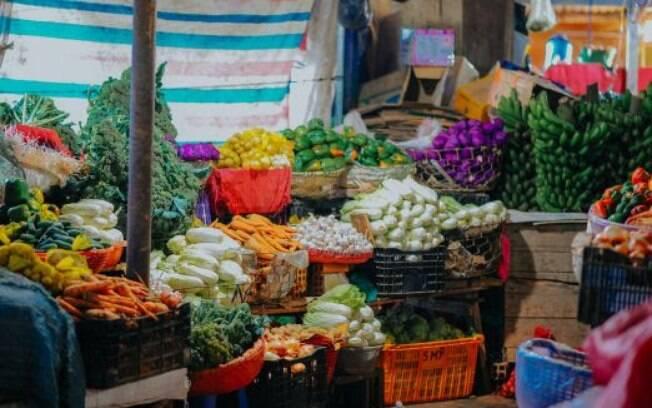 Confira os alimentos que fazem parte da safra do mês de Abril.