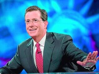 Âncora. Ácido, Stephen Colbert virou sensação na TV norte-americana e na internet