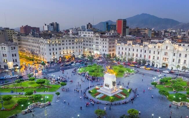 Lima, a capital do Peru