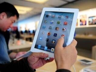 O iPad domina o mercado de tablets